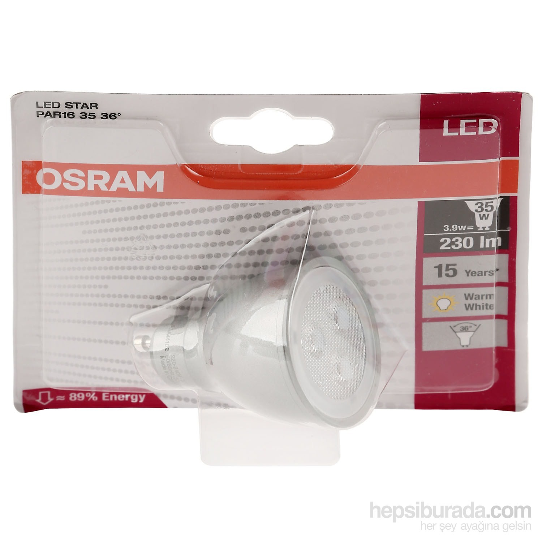 Osram Led Star Par16 : osram led star par16 35 36 3 9w 827 gu10 spot lamba sar fiyat ~ Watch28wear.com Haus und Dekorationen