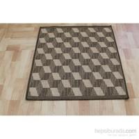 Jüt Tekstil Mizansen Sisal Halı 3031 100X100 Cm