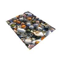 Jungle Deniz Kabuğu Dekoratif Halı 100X140 Cm