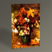 Tablo 360 Pierre Auguste Renoir Bouquet Of Chrysanthemums Tablo 45X30
