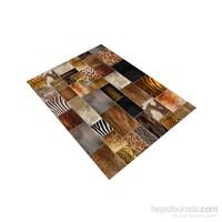 Jungle Antique Carpet Dekoratif Modern Halı 100X140 Cm