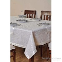 Special Home Leke Tutmaz Masa Örtüsü - Krem