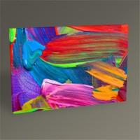 Tablo 360 Renkli Soyut Vı Tablo 45X30