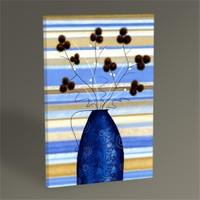 Tablo 360 Study Of Mimosa İn Blue Tablo 45X30