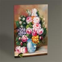 Tablo 360 Vazoda Çiçekler Tablo 45X30