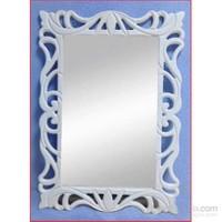 Bmd Mobilya Dekoratif Ayna 2 Beyaz