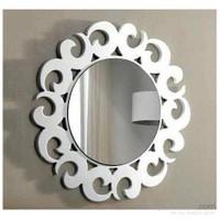 Bmd Mobilya Dekoratif Ayna 4 Beyaz