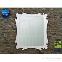 Bmd Mobilya Dekoratif Ayna 6 Beyaz