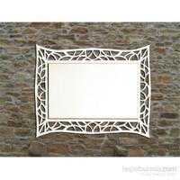 Bmd Mobilya Dekoratif Ayna 7 Beyaz