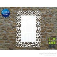 Bmd Mobilya Dekoratif Ayna 9 Beyaz