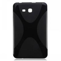 Teleplus Samsung Galaxy Tab 3 Lite Silikon Kılıf Siyah