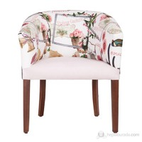 3A Mobilya Rose Garden Berjer
