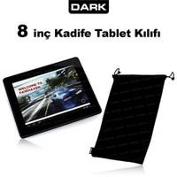"""Dark 8"""" Ultra Yumuşak Siyah Kadife Tablet Kılıfı (DK-AC-TBKL82)"""