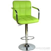 Bürocci Carla Bar Taburesi-Yeşil-9503Q0110