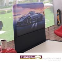 Monessa Racing Baza Başlığı Tek Kişilik