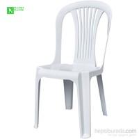 Bunjee Reina Plastik Sandalye Beyaz