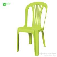Bunjee Reina Plastik Sandalye Yeşil