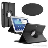 Romeca Samsung Galaxy Tab3 10,1' P5210 360° Dönebilen Siyah Kılıf