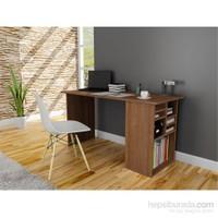 Akasya Bilgisayar ve Çalışma Masası - Ceviz