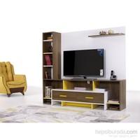 Alpino Marvel Tv Ünitesi - Beyaz / Venezia / Sarı