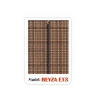 Beyza Eko Tela Bez Dolap - Kahverengi
