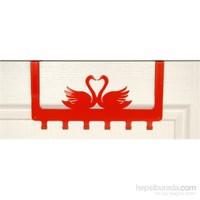 Amerikan Kapı Askısı Kuğu Kırmızı