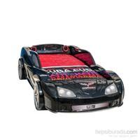 Cor Bed Mini Siyah Arabalı Yatak