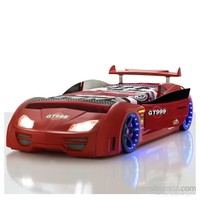 GT-Kapıları Açılır Arabalı Yatak (Kırmızı)