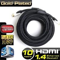 Dark UHD 4K Destekli 10 Metre Ethernet Altın Uçlu HDMI V1.4 Kablo (DK-HD-CVL1000)
