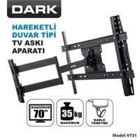 Dark DK-AC-VT31 37'-70' Hareketli Duvar TV Askı Aparatı