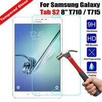Markaawm Samsung Galaxy Tab S2 T715 T710 8.0 Kırılmaz Cam