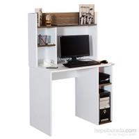 Alpino Carey Bilgisayar Masası - Beyaz / Venezia