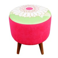 Dolce Home Colours And Flowers Puf - Papatya