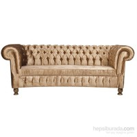 Gold Chesterfield Koltuk