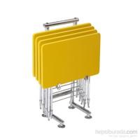 Pikma Sarı Safir Demonte Çanta Zigon Sehpa