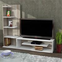Dekorister Sleek Tv Ünitesi Beyaz-Cordoba