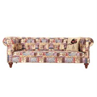 3A Mobilya Classic Patch Chesterfield