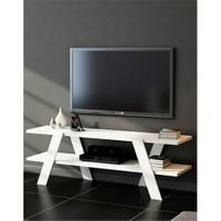 Sanal Mobilya Box Tv Sehpası-Beyaz