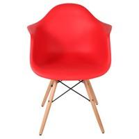 Altıncı Cadde Leon Kırmızı Sandalye