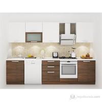 Kenyap 130008 Highgloss PVC Kapaklı Mutfak 301