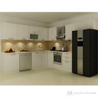 Kenyap 135003 Highgloss PVC Kapaklı Mutfak