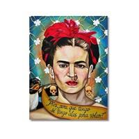Tictac Frida 1 Kanvas Tablo - 60X90 Cm