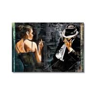 Tictac Kanvas Tablo - 60X90 Cm