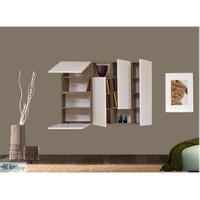 Kenyap 800307 Decoflex Duvar Ünitesi-Samba&Beyaz