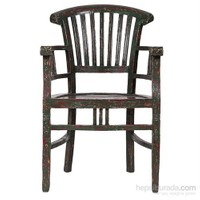 Beautıful Yeşil Kolçaklı Sandalye