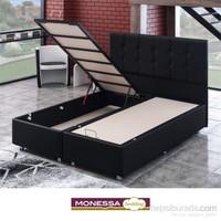 Monessa Serenita Baza Siyah Tek Kişilik 90X190