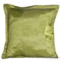 Yastıkminder Tafta Fıstık Yeşil Küçük Madalyon Yastık