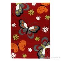 Merinos Diamond Kırmızı Kelebek 772 160X230 111 Red Halı