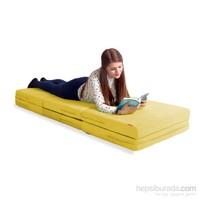 Puya Puf Yatak Sarı