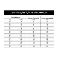 Sanal Mobilya Hayal Tv Ünitesi 12556 -Leon Ceviz-Parlak Beyaz